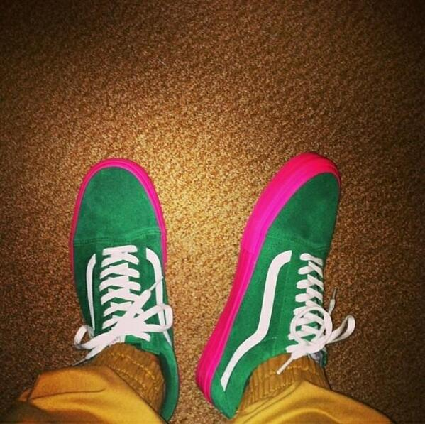 tyler the creator x vans syndicate old skool