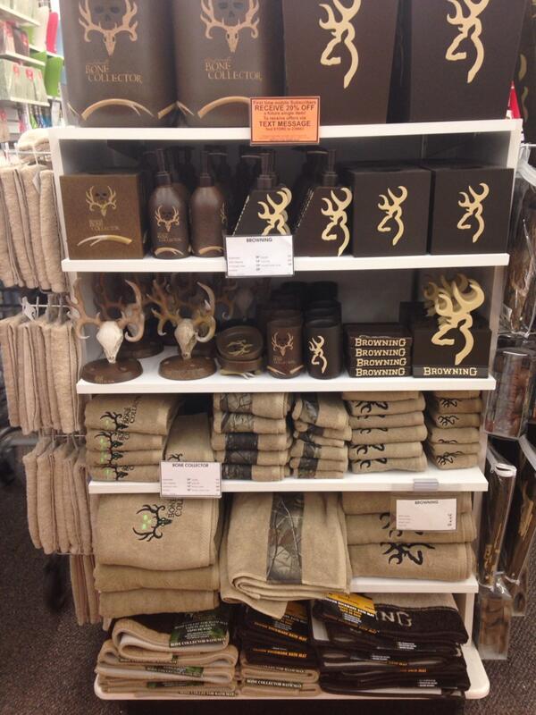 Rylee On Twitter Got My New Bathroom Set Browning Hunter Hunting Killthings Deer Hellyes Http T Co Hdbyycwoqo