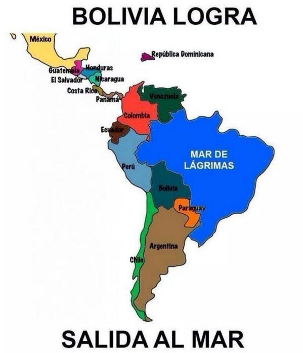 Nicolás De León On Twitter El Nuevo Mapa América Del Sur