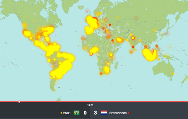 World cup maps from twitter data on twitter link httpcartodbvworldcup matchtcxvis94173432 0a12 11e4 9040 0e230854a1cbhttbrazilffcc007cnetherlands gumiabroncs Images