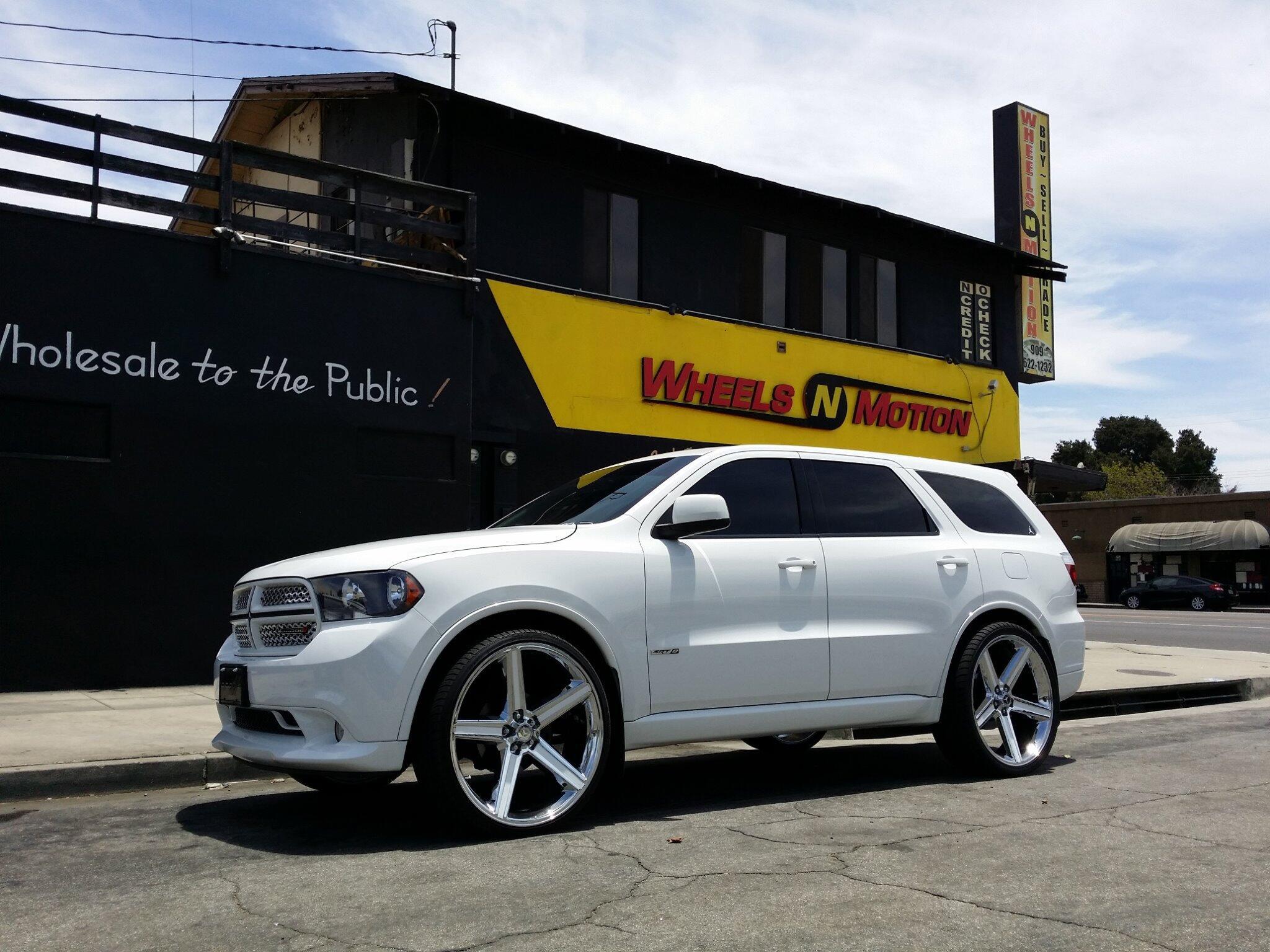 Wheels N Motion On Twitter Quot Dodge Durango Srt8 On 26