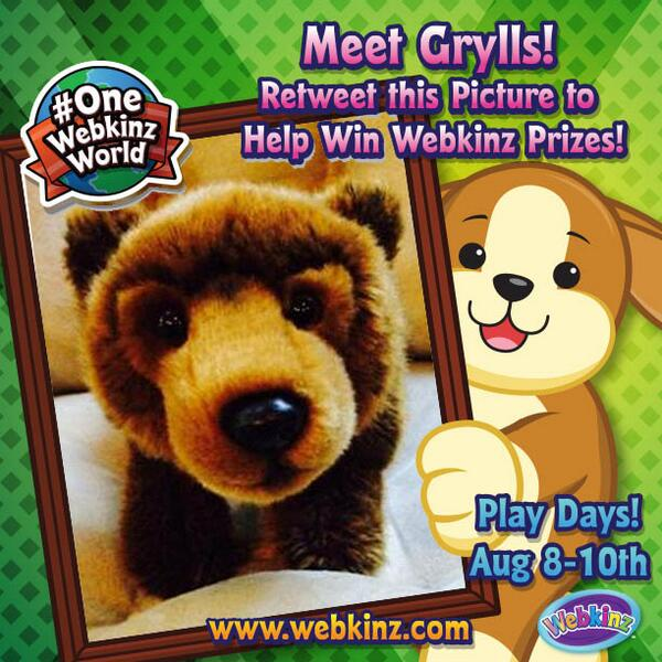 It's amazing how many people connect and experience Webkinz together. Share your favourite plush! #OneWebkinzWorld http://t.co/uDxuAgEmnk