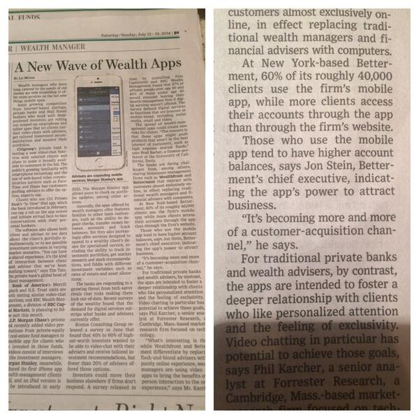 Always fun to see @Betterment in print. http://t.co/BvgWYP7Q7x