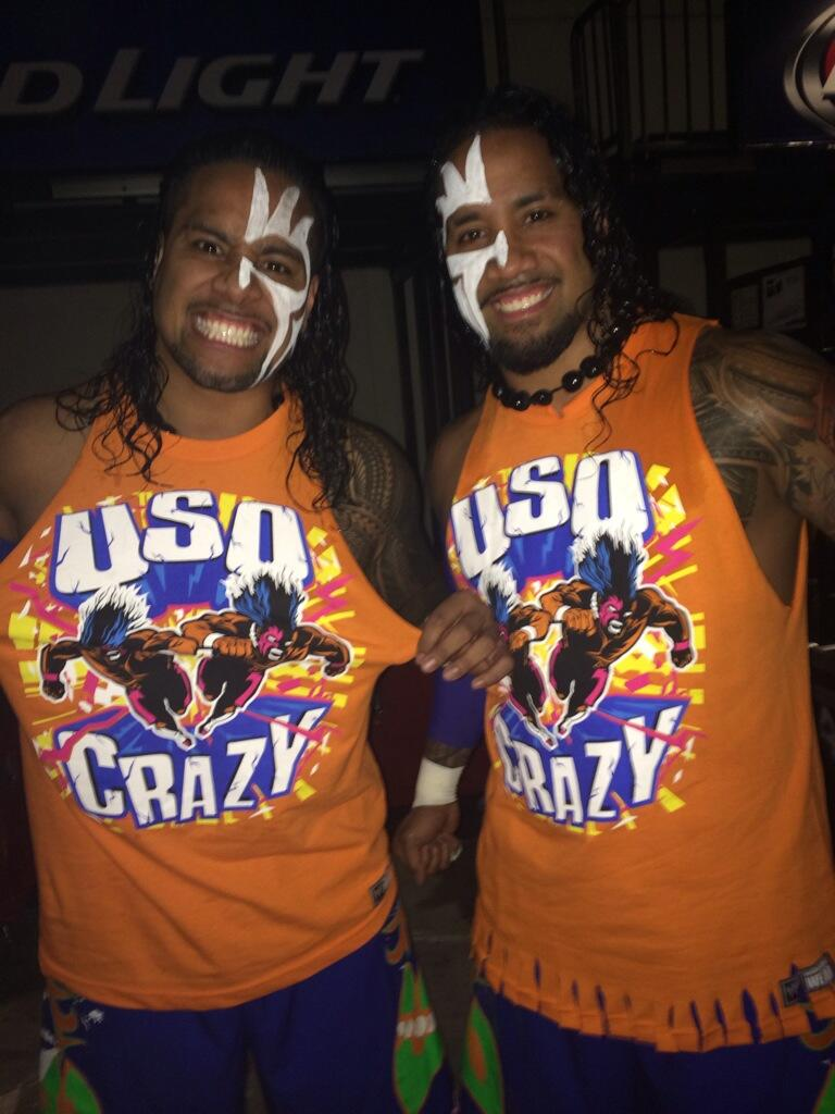 The usos on twitter quot msg we rocking that new usocrazy t shirts