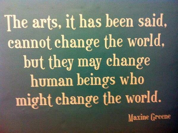 The value of arts education.  #aussieed #edchatnz http://t.co/Mp4Asps1d5