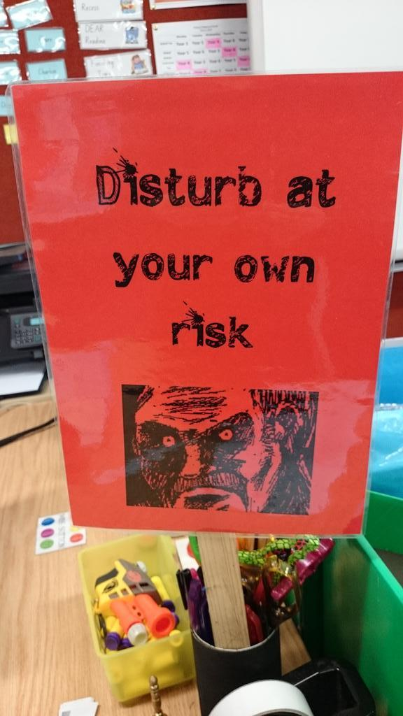 Mostly a joke sign... Hehehe. #aussieED http://t.co/ZYJrOf6vcJ