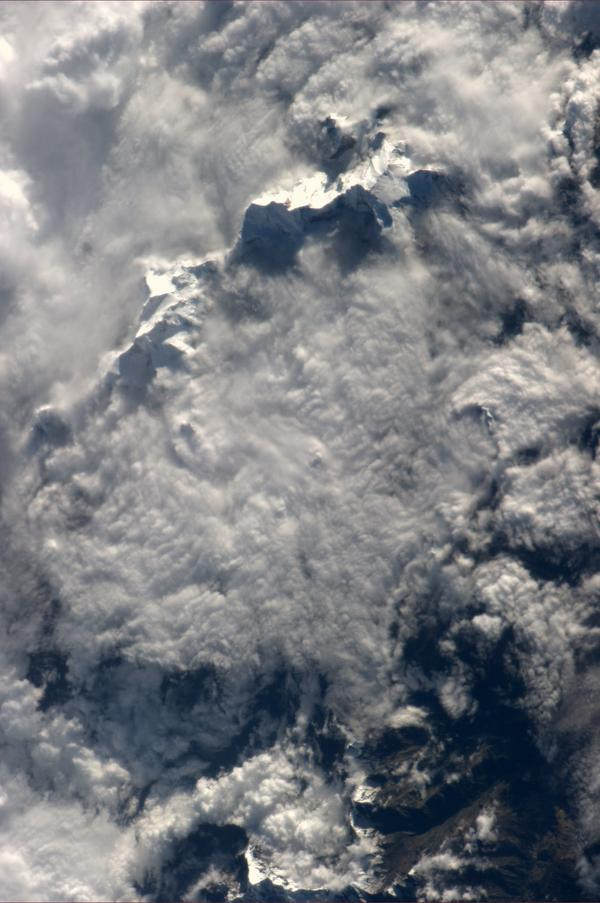 Is this Everest? / Ist das der Everest? #BlueDot http://t.co/0QxCR82l0g