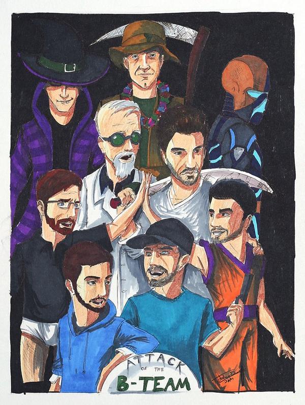 Amazing B-Team fan art courtesy of http://t.co/HbjET34DfS http://t.co/SeabIQ5tkh