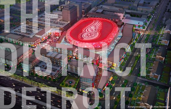 Detroit Red Wings New Arena Preview 110