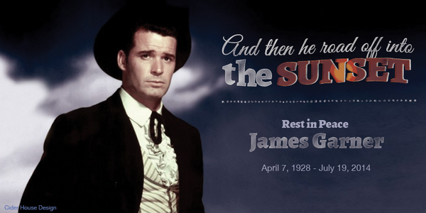 I have always been a James Garner fan. Loved the Rockford Files. What was your favorite? http://t.co/sZwEZ4x57u