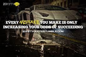 Twitter / JessaBahr: Every mistake you make is only ...