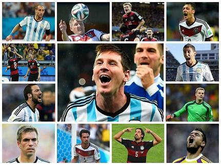 Argentina y Alemania por la gloria en Mundial de Fútbol