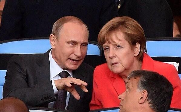 Are they talking football? spy games? Ukraine? Should we ask the NSA?  #GER #ARG #WorldCup2014 #NSA http://t.co/ch4QjhDPRJ