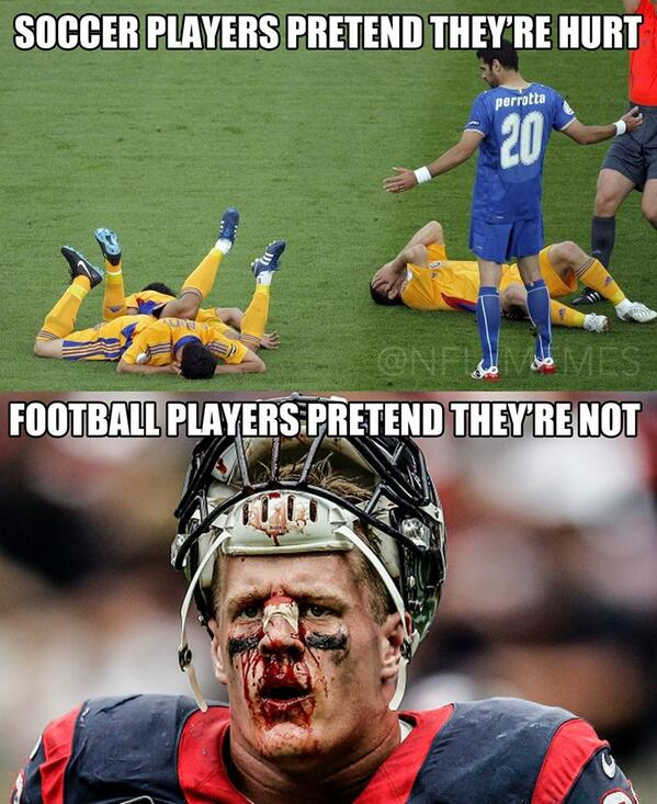 Nfl Memes On Twitter Football Vs Soccer Http T Co Ta1iefwxhg