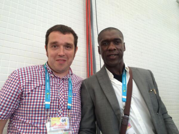 One of the best players never to play in a World Cup final... & @BBCSport pundit Clarence Seedorf #bbcworldcup http://t.co/JSeDCeD4an