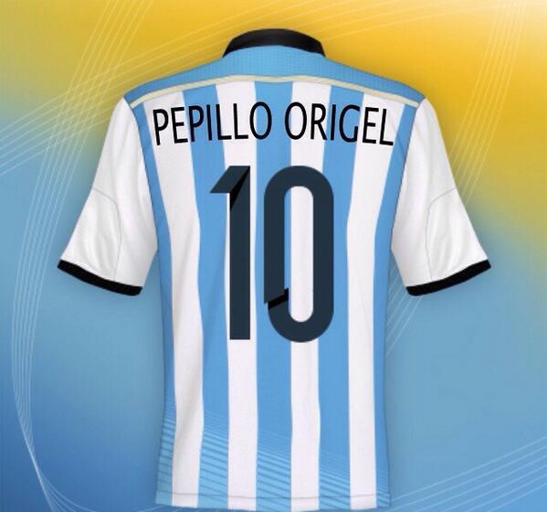 """@jaruyosan: @Pepillo_Origel venga Argentina"