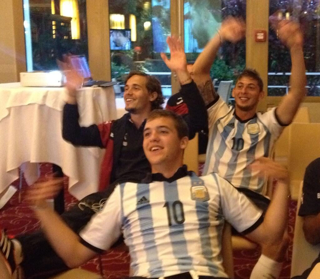 Les Argentins de Bordeaux ont vibré