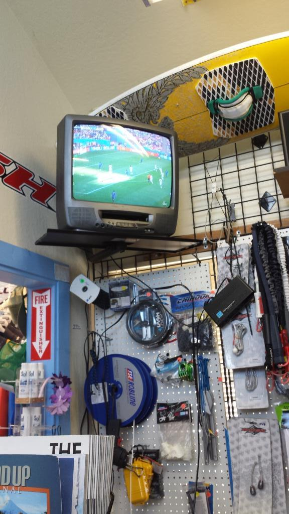 #WorldCupFinal in my shop. #GER #ARG I can't pick a team to root for. Just having fun. http://t.co/Lsyg6A6396
