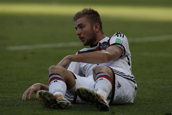 Germanys Christoph Kramer was so concussed that he cant remember yesterdays World Cup final [Pictures]