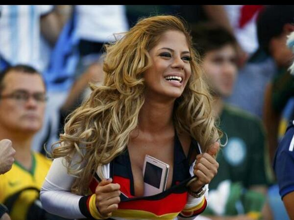 This was the German supporter that made the studio go silent on bbc one haha #WorldCupFinal http://t.co/k3POJeEPLI
