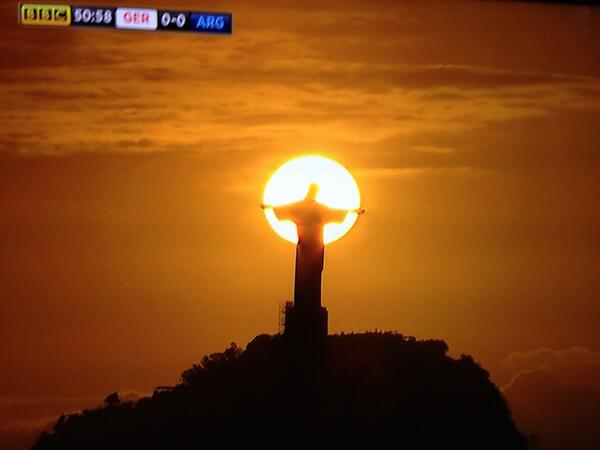 Nicky Gumbel On Twitter Wow Sunset In Rio Jesus Is Lord Http T