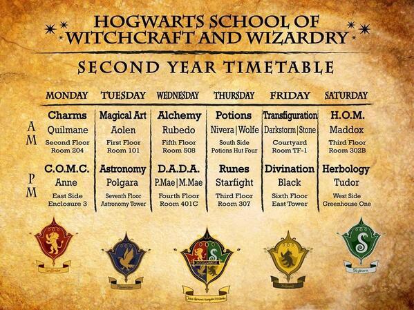 high school class schedule maker