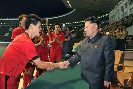 BREAKING: Kim Jong Un congratulates the North Korean Men's National Team on a 4th consecutive World Cup championship! http://t.co/StZiK1rzXS