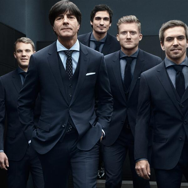 """@HUGOBOSS: World Champion - Congratulations @DFB_Team! http://t.co/6jXCpGTIqx"" #iLike #GERARG #GER #WorldCup2014 #aneurerseite"
