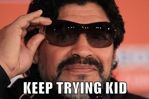 """@AmeriCamp: #Maradona to #Messi ... #WorldCup http://t.co/yhXfruWU9v"" lmaoo"