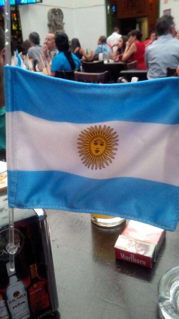 No hay cosa más bonita q perder con mucha dignidad! #granpartido #granfinal #orgullosademiArgentina