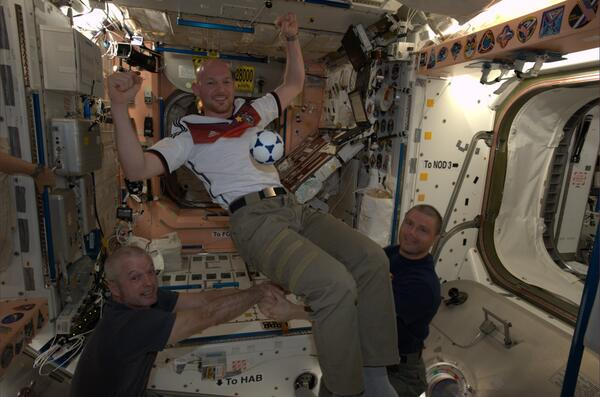 Meet the German astronaut who enjoyed the World Cup from space