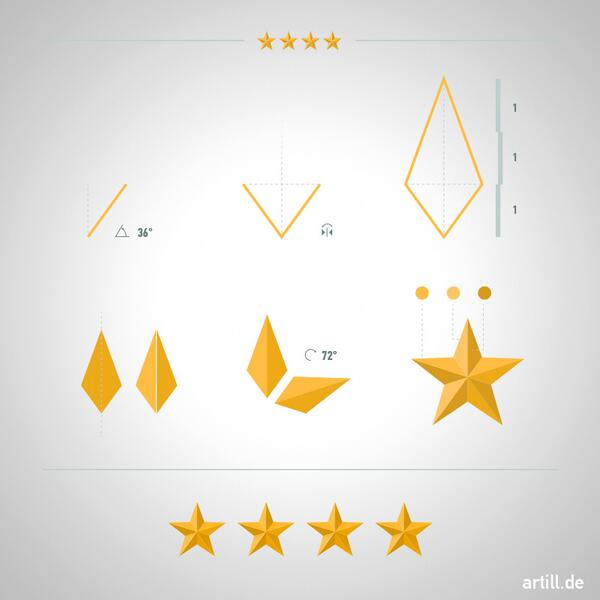 Illustrator Tip - How to Make a Beveled Star: http://t.co/wLQvaTesv8 http://t.co/h4OxrakTn1