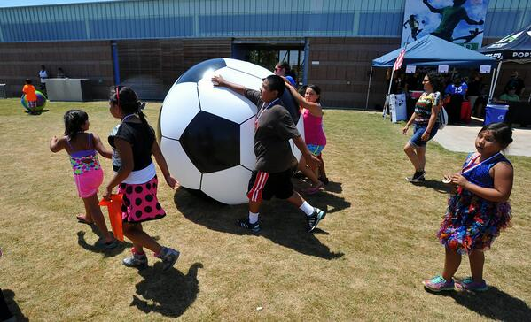 Photos: World Cup watch party at Wilmington's Waterfront Park http://t.co/xoxuUaETKY http://t.co/1RVPDSrcEb
