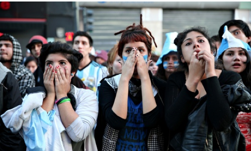 The view from Argentina: pride and devastation among the crowds of Buenos Aires http://t.co/WcyW4FMQ5o (Photo: Getty) http://t.co/8nvUNFSSgM
