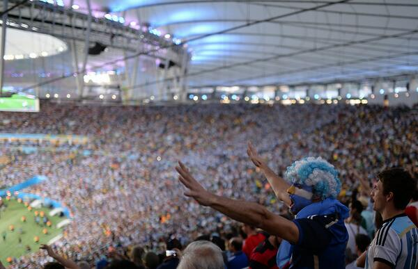 Quick pic from the #WorldCupFinal in Brazil. More photos: http://t.co/O0qtNXYy8p http://t.co/BHdtgXnyTd