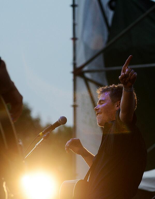 . @joshritter performed a great set at the @greenriverfest. Photo gallery from Sunday coming on @masslivenews. http://t.co/J91vDXdMc6