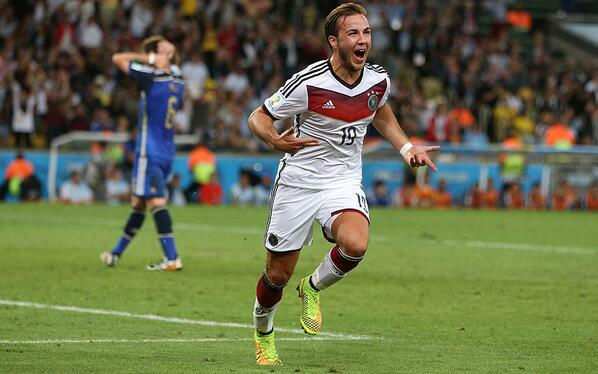 Mario Gotze was told by Germany coach to show the world 'he is better than Messi' http://t.co/7sp22072Zm (Pic: Getty) http://t.co/GtyFJ1N70v