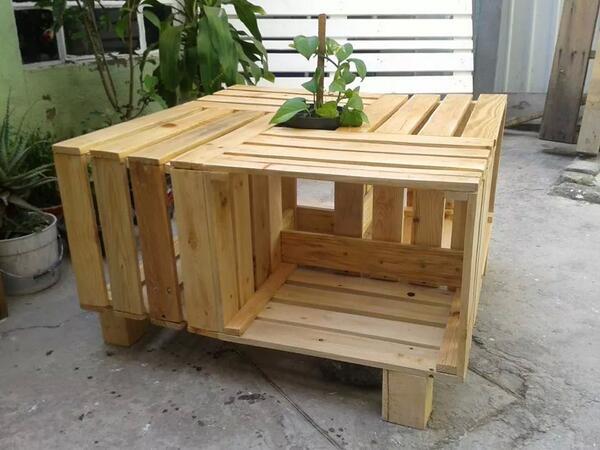 Muebles con tarimas muremex twitter for Muebles de jardin hechos con tarimas