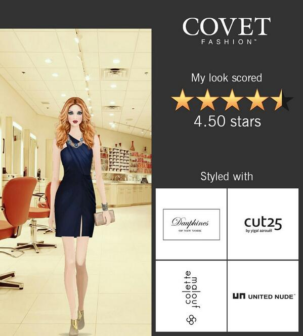 Dia Mobbs On Twitter My Look Scored 4 50 Stars In The Fashion Show For Brazilian Designer Event In Covet Fashion Http T Co Cjct5h0rcn Http T Co T5acczhv4c