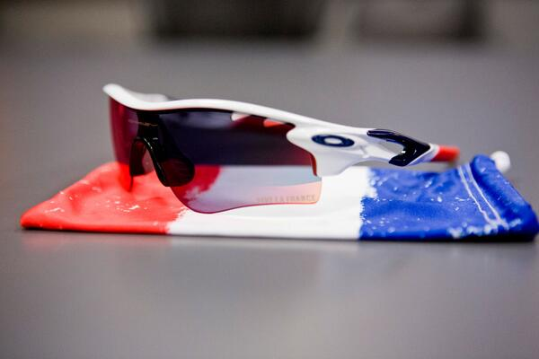 Bastille Day! Our French #oakleycycling riders will wear something special today to celebrate. #TdF http://t.co/PaWtf9sCug