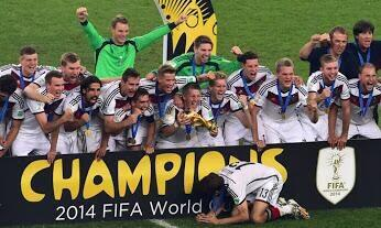 Thomas Muller World Cup winning Germany