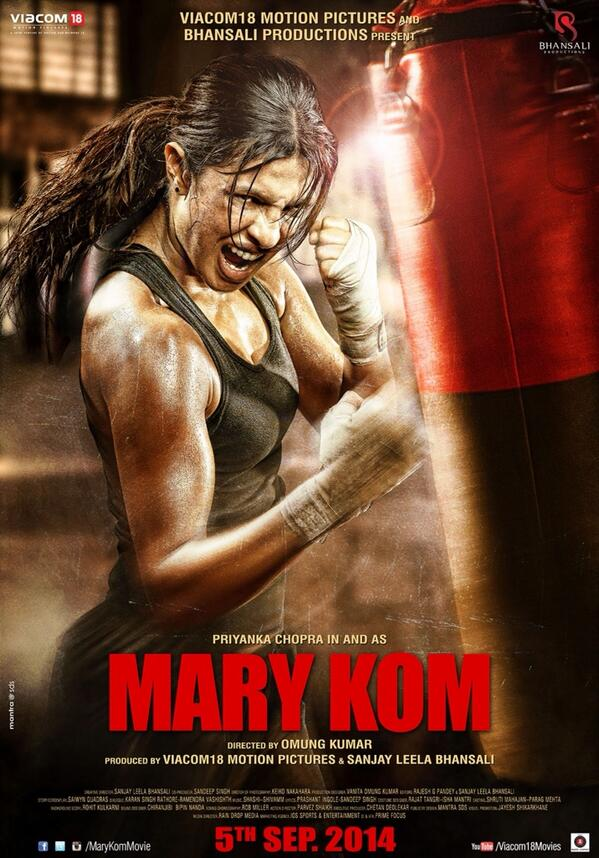 Mary Kom First Look Poster