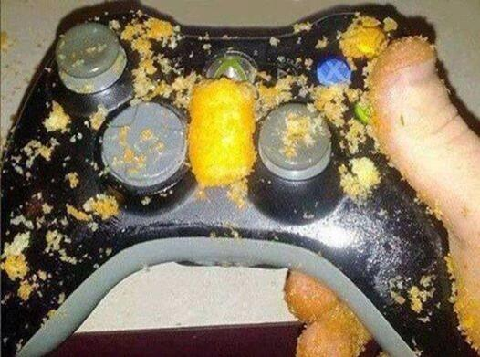 "When you go to your friend's house and he's like, ""Here you can use the guest controller..."" http://t.co/v3tiTkPPkc"