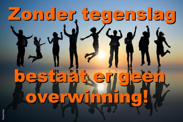 overwinnings spreuken ParaVisie chat  en bellijn on Twitter: