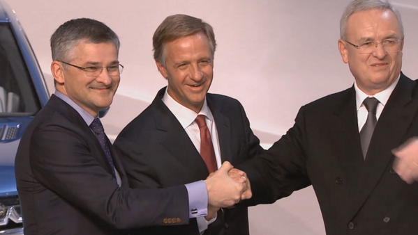 Gov. Haslam and Volkswagen officials in Germany announce Chattanooga, TN expansion