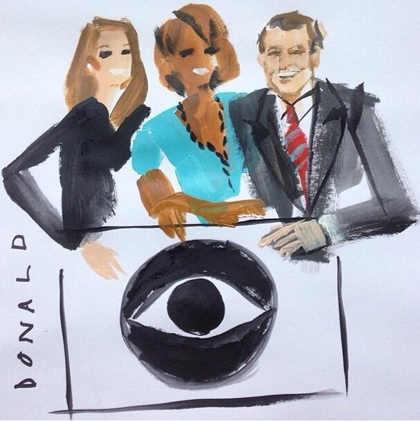"""Charlie Rose on Twitter: """"Love the drawing Donald ..."""