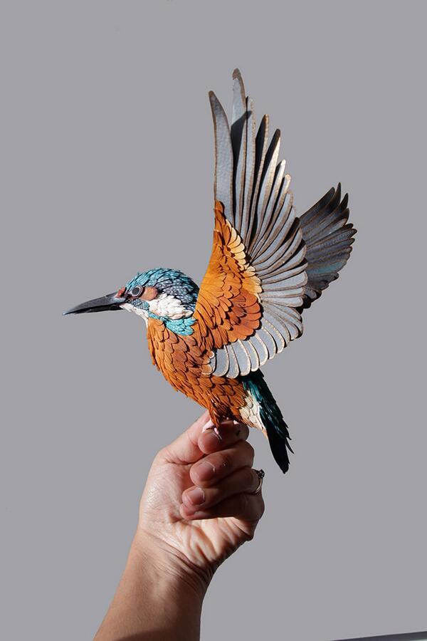 GORGEOUS! >> @terrinakamura: Amazing — #Paper Birds — #Art — http://t.co/m7H73fS7Y9  http://t.co/nLv2J1a5At RT @LuckyRain8rig #love