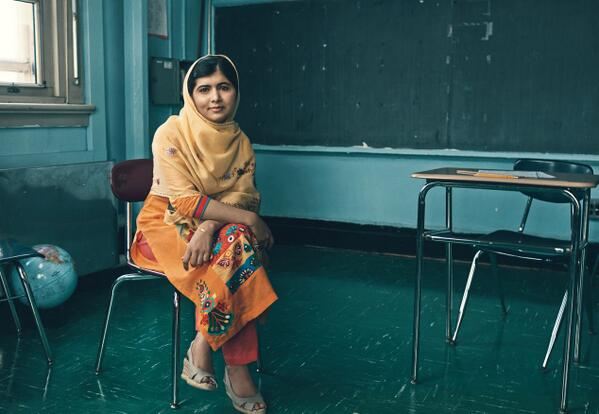 Today is #MalalaDay. Celebrate Malala Yousafzai and stand up for education for all. What are you #strongerthan? http://t.co/OifclJpbkO