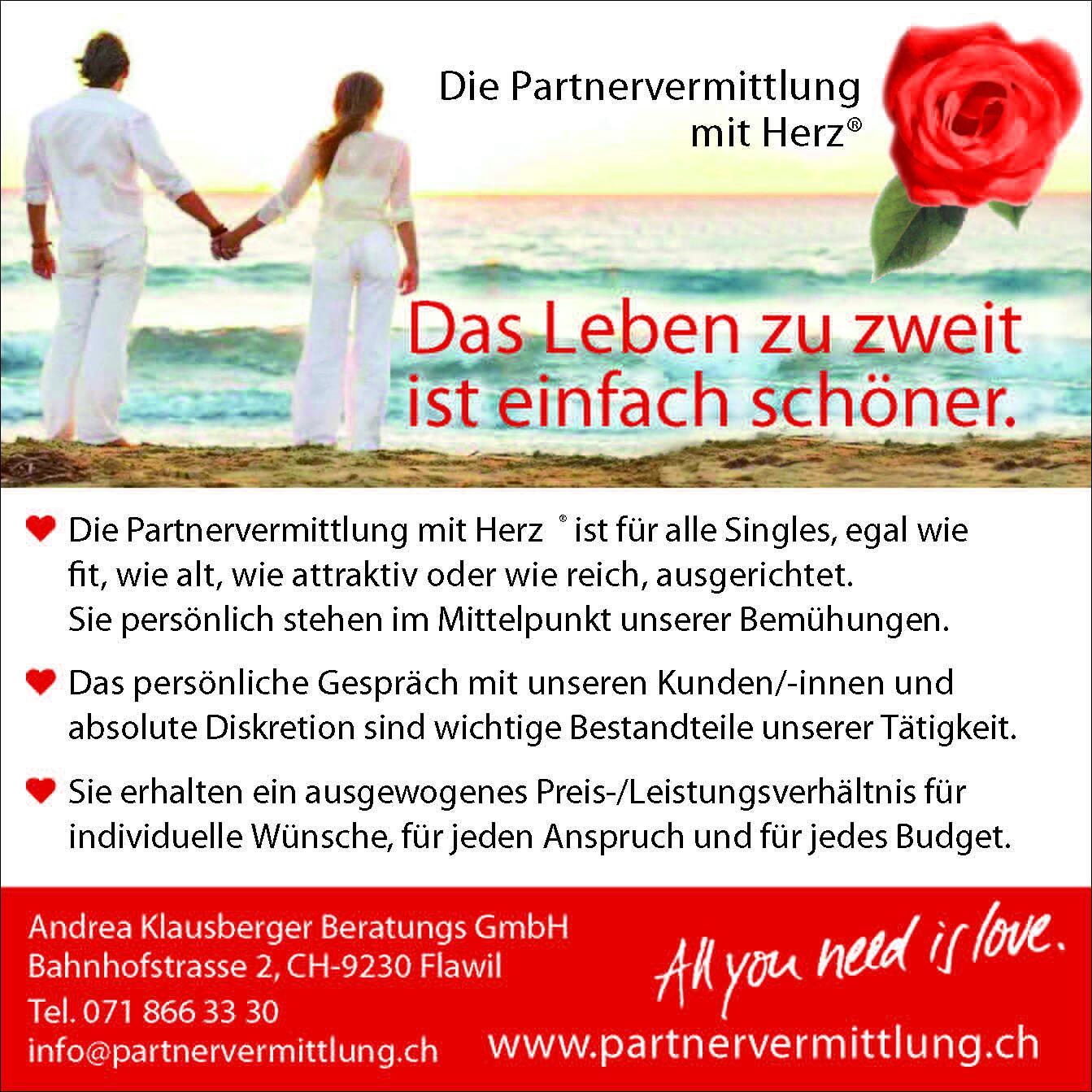 partnervermittlung mit herz)