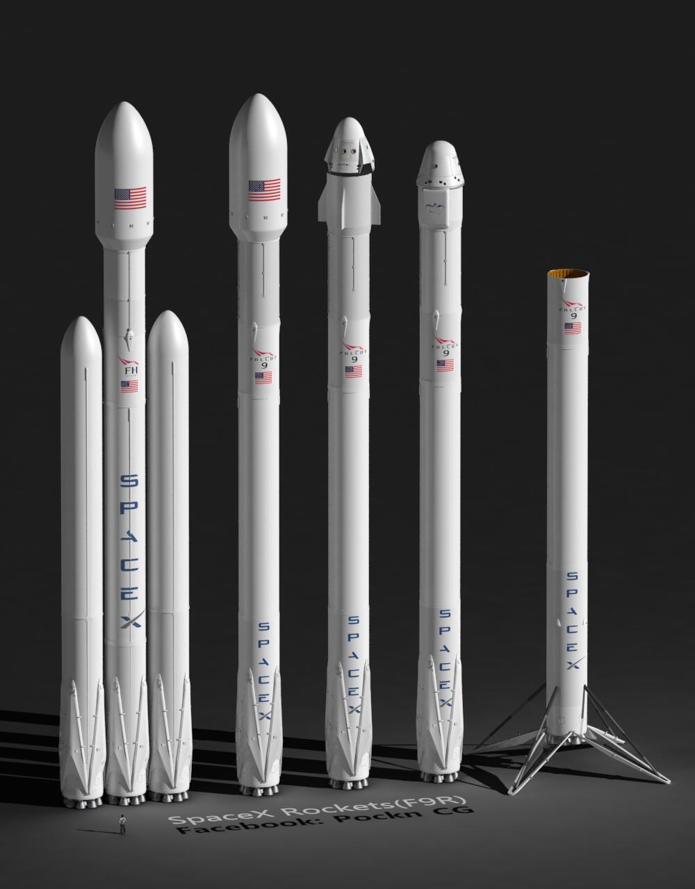 SpaceX F9r - Pics about space